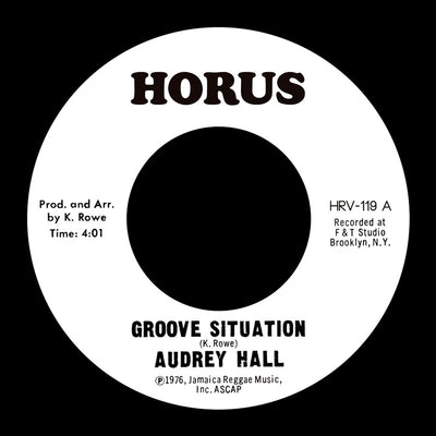 Audrey Hall ‎- Groove Situation - Unearthed Sounds