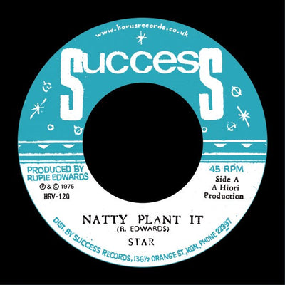Star The Marshall ‎– Natty Plant It - Unearthed Sounds