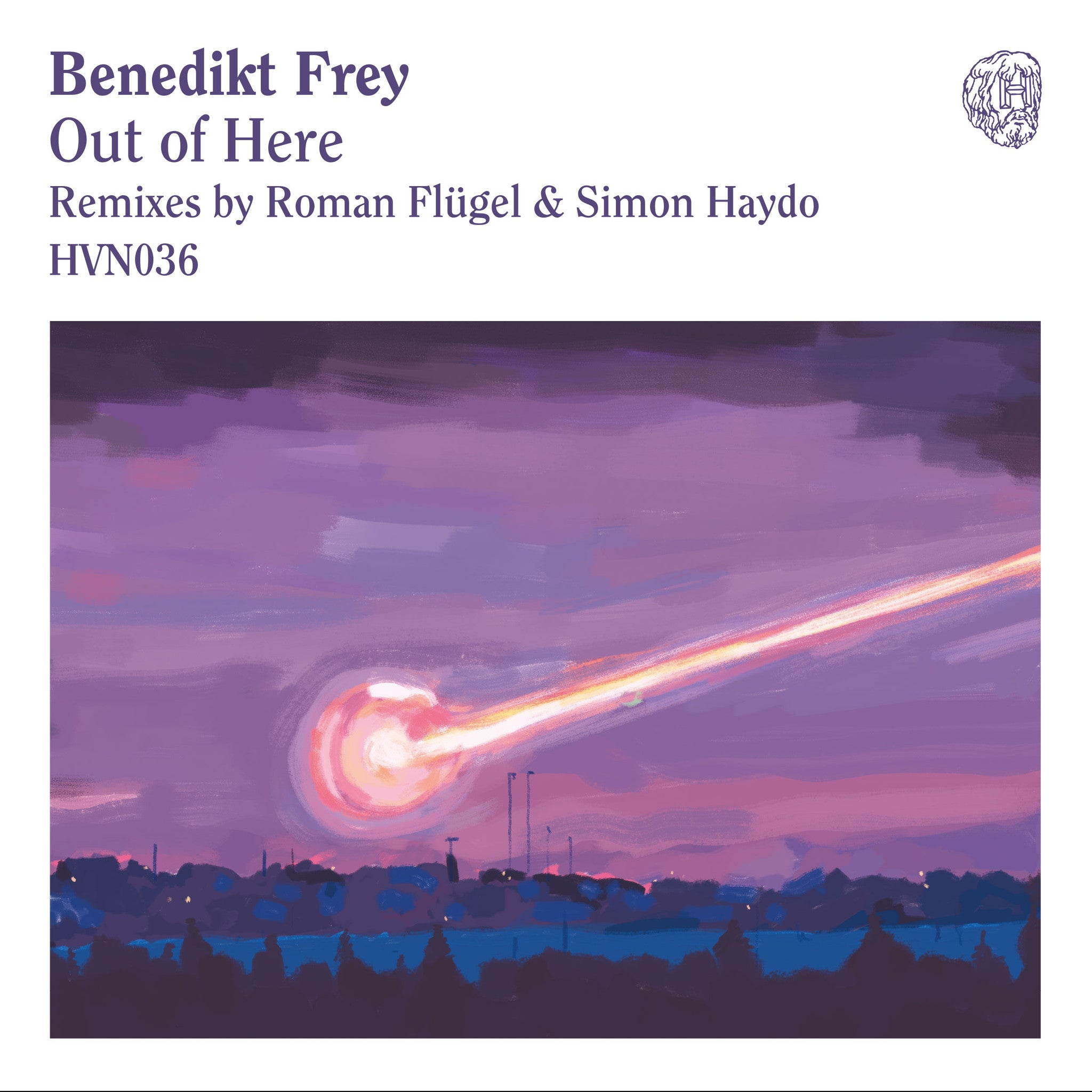Benedikt Frey - Out Of Here (Roman Flugel and Simon Haydo remixes) , Vinyl - Hivern Discs, Unearthed Sounds