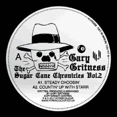 Gary Gritness - The Sugar Cane Chronicles Vol. 2 , Vinyl - Hypercolour, Unearthed Sounds