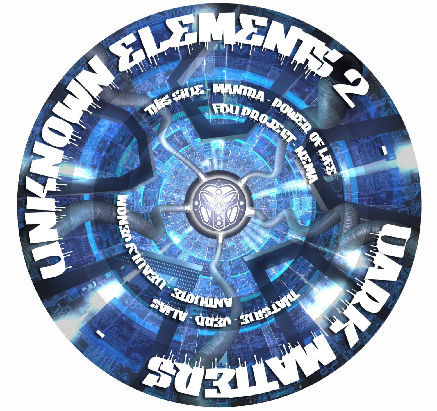 Unknown Elements 2 - Dark Matters (Limited Picture Disc Vinyl) - Unearthed Sounds