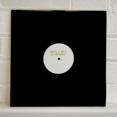 Mala / Natty & Benjamin Zephaniah  - Word & Sound [Vinyl-only White-label] - Unearthed Sounds