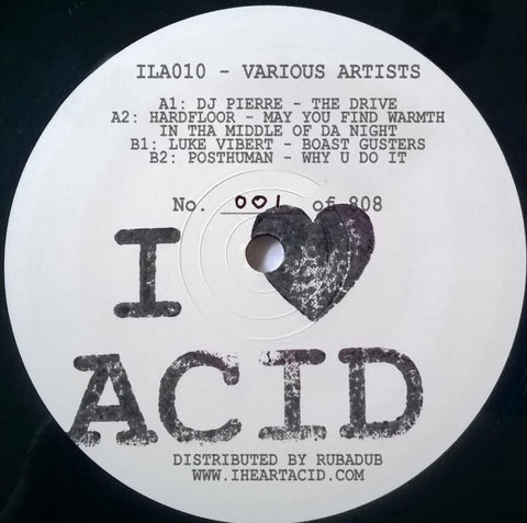 V/A - I Love Acid Ten