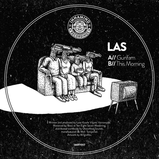 LAS - Gunfam // This Morning , Vinyl - Innamind Recordings, Unearthed Sounds