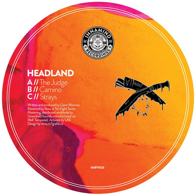 Headland - The Judge / Camino / Strays - Unearthed Sounds