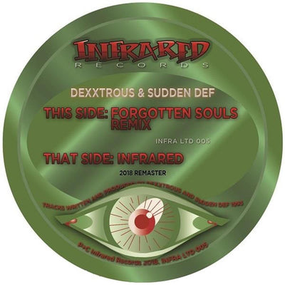 Dexxtrous & Sudden Def - Forgotten Souls Remix / Infrared - Unearthed Sounds