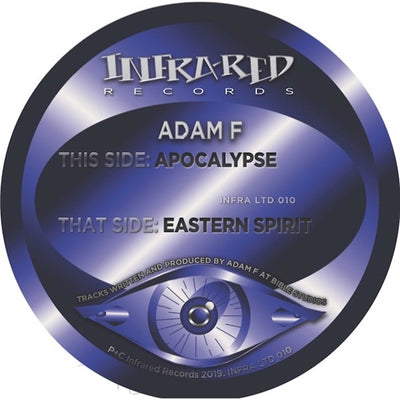 Adam F - Apocalypse / Eastern Spirit - Unearthed Sounds