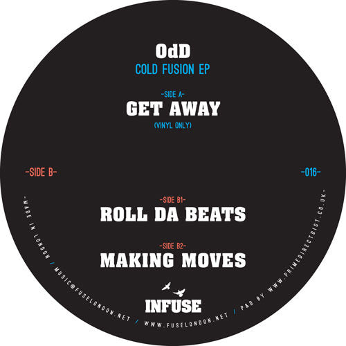 0dD - Cold fusion EP , Vinyl - Infuse, Unearthed Sounds