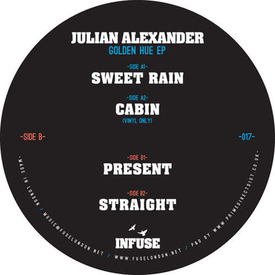 Julian Alexander - Golden Hue EP - Unearthed Sounds