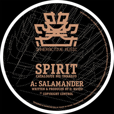 Spirit - Salamander / Holding Back - Unearthed Sounds