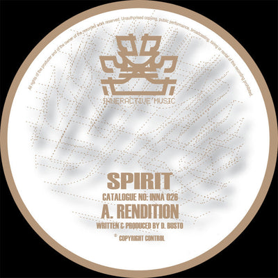 Spirit - Rendition / End Game - Unearthed Sounds