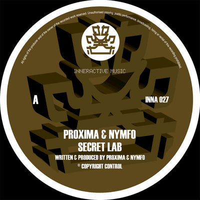 Proxima & Nymfo - Secret Lab / Common Gateway - Unearthed Sounds