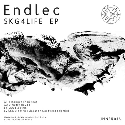 "Endlec - SKG4LIFE EP [Coloured 12"" with insert] - Unearthed Sounds"