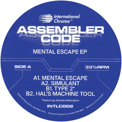 Assembler Code - Mental Escape EP - Unearthed Sounds