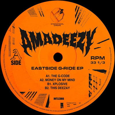Amadeezy - Eastside G-Ride [Stickered Sleeve] - Unearthed Sounds