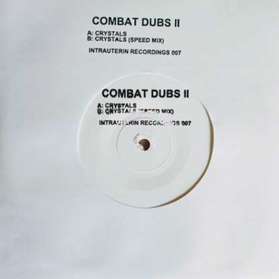"Combat Dubs - Combat Dubs II [7"" Limited white vinyl] - Unearthed Sounds, Vinyl, Record Store, Vinyl Records"