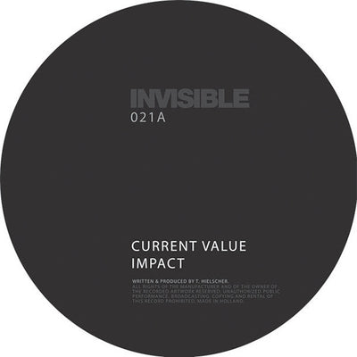 "Various Artists - Invisible 021 EP [2x12"" w/ Download Card] , Vinyl - Invisible, Unearthed Sounds"