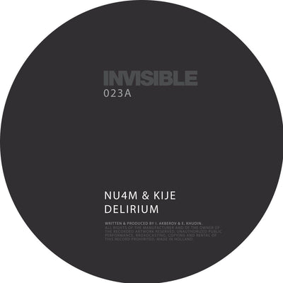 "Various Artists - Invisible 023 [2x12"" Vinyl] , Vinyl - Invisible, Unearthed Sounds"