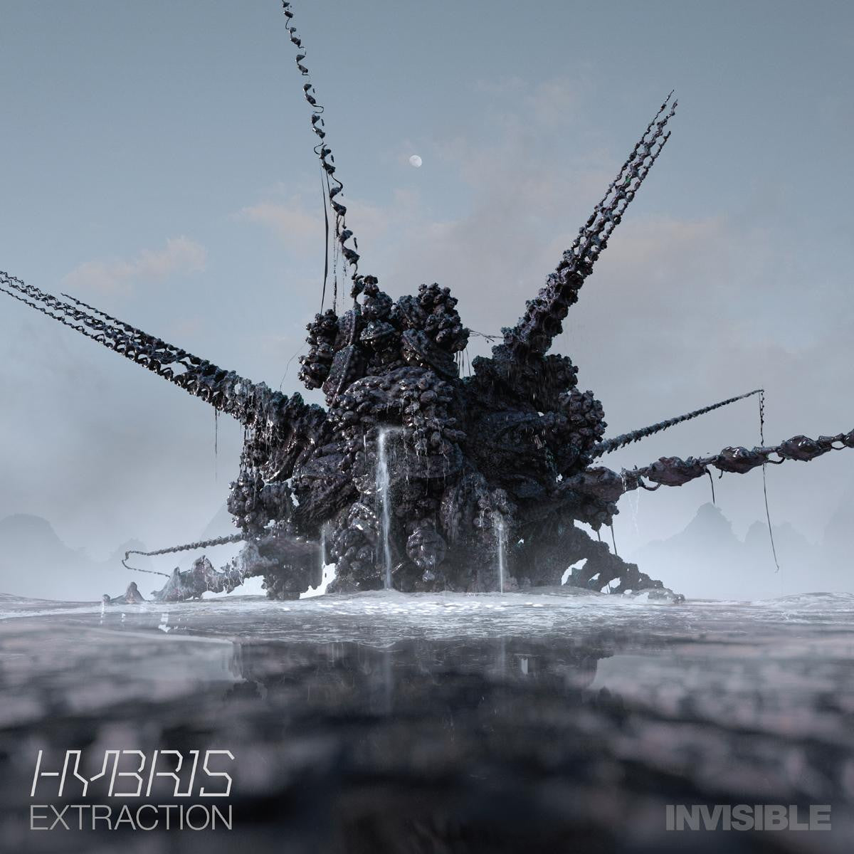 "Hybris - Extraction EP [2x12"" w/ Download Code] , Vinyl - Invisible, Unearthed Sounds"