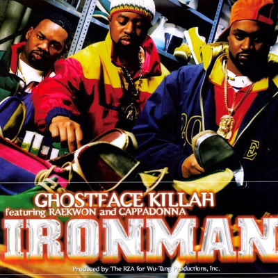 Ghostface Killah - Ironman [2 x LP in Gatefold Sleeve] - Unearthed Sounds