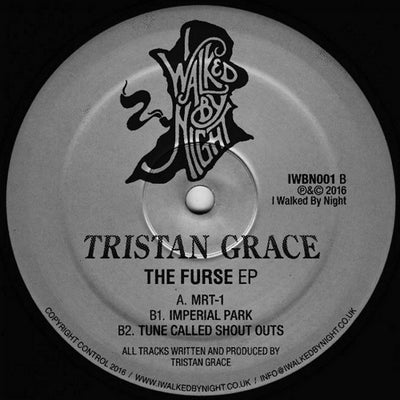 Tristan Grace - The Furse EP , Vinyl - I Walk By Night, Unearthed Sounds