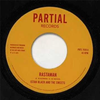 Istan Black & The Sweets - Rastaman - Unearthed Sounds