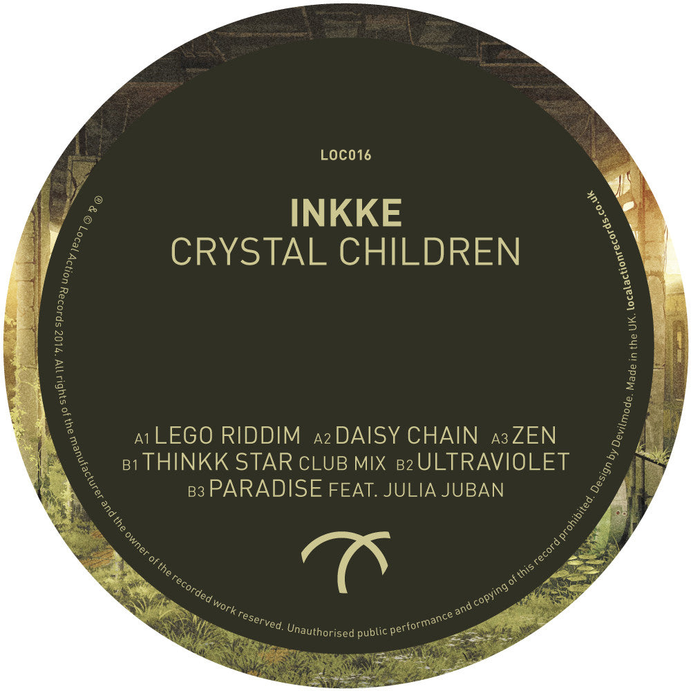 Inkke – Crystal Children EP - Unearthed Sounds
