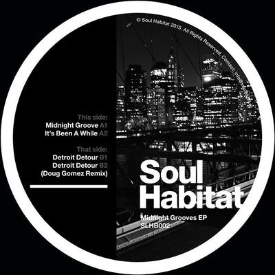 Soul Habitat - Midnight Grooves - Unearthed Sounds, Vinyl, Record Store, Vinyl Records