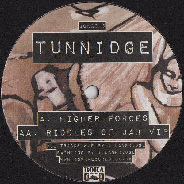 Tunnidge ‎- Higher Forces - Unearthed Sounds