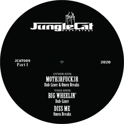 Dub-Liner & Omen Breaks - Jungle Cat 009 EP: Part 1 - Unearthed Sounds