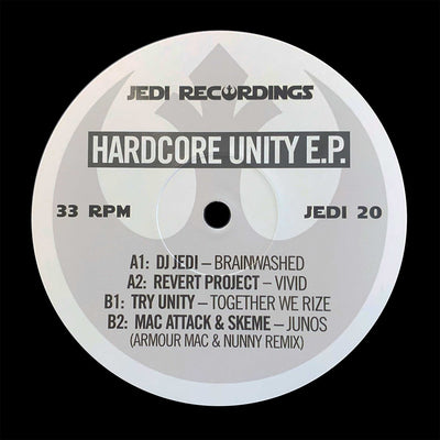 Various Artists - Hardcore Unity EP [Repress] - Unearthed Sounds, Vinyl, Record Store, Vinyl Records