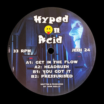 Hyped On Acid - Get In The Flow - Unearthed Sounds, Vinyl, Record Store, Vinyl Records