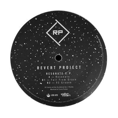 Revert Project - Resonate EP [White Vinyl] - Unearthed Sounds, Vinyl, Record Store, Vinyl Records