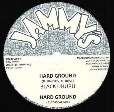Black Uhuru ‎– Hard Ground - Unearthed Sounds