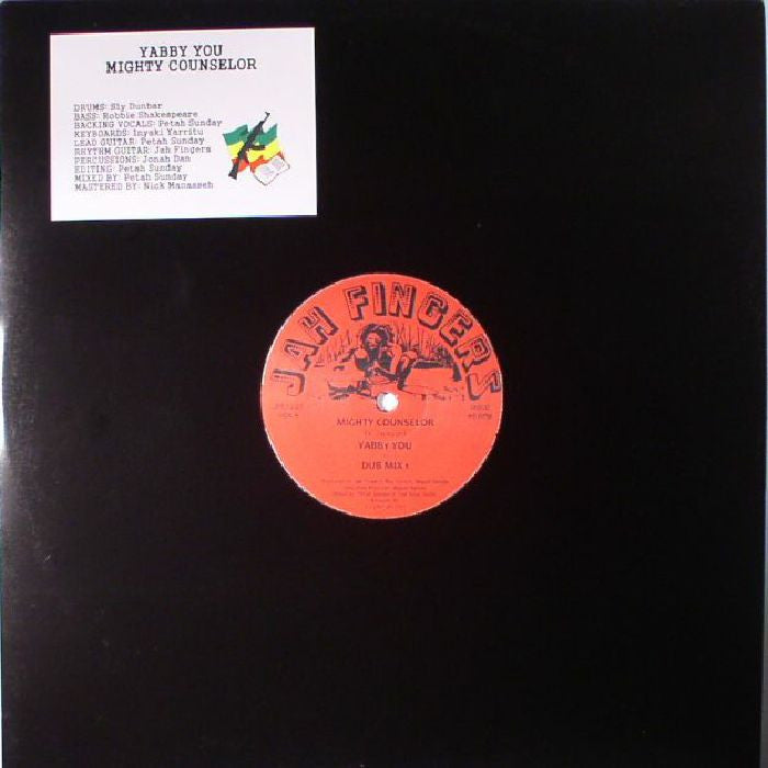 Yabby You / Jah Fingers All Stars - Mighty Counselor