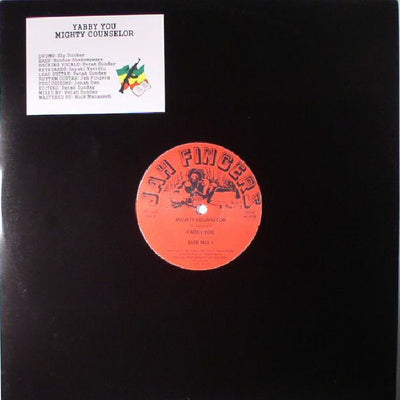 Yabby You / Jah Fingers All Stars - Mighty Counselor - Unearthed Sounds