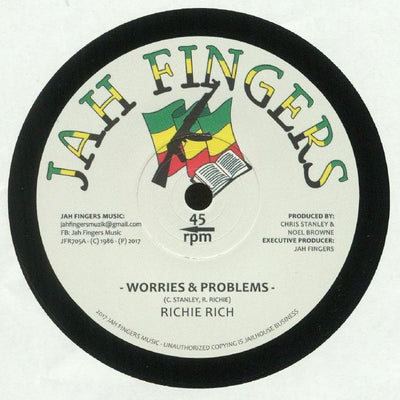 Richie Rich - Worries and Problems - Unearthed Sounds