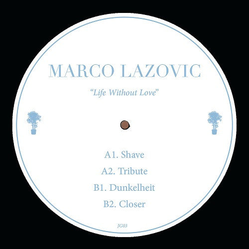 Marco Lazovic - Life Without Love , Vinyl - Jungle Gym, Unearthed Sounds
