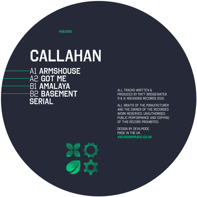 Callahan - Armshouse EP - Unearthed Sounds