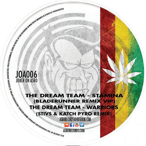 "The Dream Team - The Dream Team Remixes Vol. 2 [180g 12"" Vinyl]"