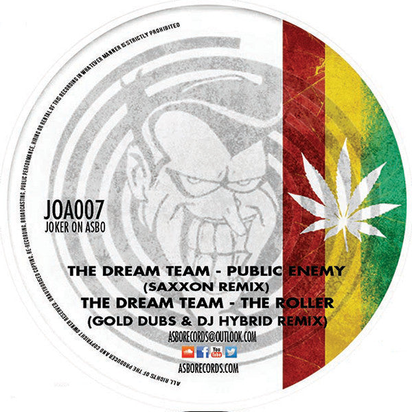 "The Dream Team - The Dream Team Remixes Vol. 3 [180g 12"" Vinyl] , Vinyl - Asbo Records, Unearthed Sounds"