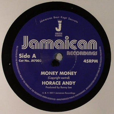 "Horace Andy - Money Money [7"" Vinyl] - Unearthed Sounds"
