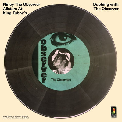 "Niney The Observer - Dubbing With The Observer [12"" Vinyl LP] - Unearthed Sounds"