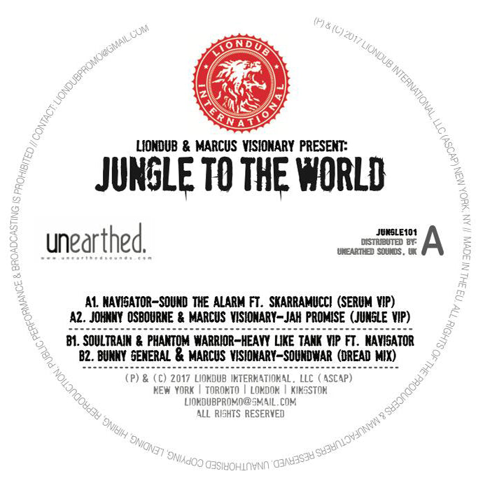 Liondub & Marcus Visionary Present: Jungle To The World
