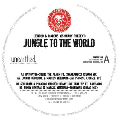 Liondub & Marcus Visionary Present: Jungle To The World - Unearthed Sounds