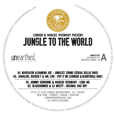 Various Artists - Liondub & Marcus Visionary Present: Jungle To The World 2 - Unearthed Sounds