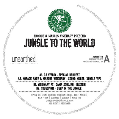 Various Artists - Liondub & Marcus Visionary Present: Jungle To The World 3 - Unearthed Sounds