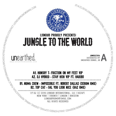 Various Artists - Liondub Presents: Jungle To The World 4 - Unearthed Sounds