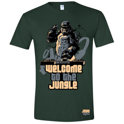 Welcome To The Jungle T-Shirt - Unearthed Sounds