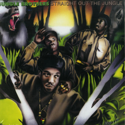 The Jungle Brothers - Straight Out The Jungle [2 xLP] - Unearthed Sounds